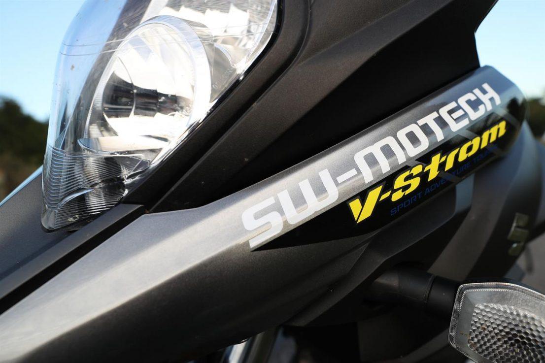 SUZUKI V-Strom 650XT adventure project 1