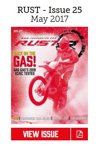 Rust-Magazine-25 WR250F Issue