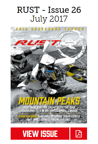 Rust Husqvarna Magazine issue 26