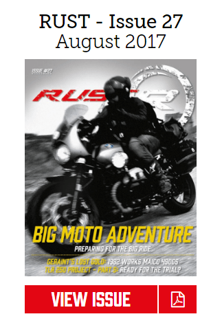Rust Big Moto Adventure Magazine 27