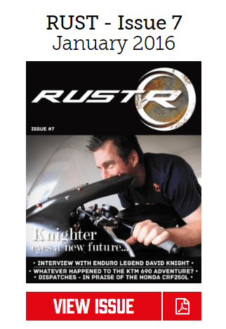 Rust Sports Bike Magazine issue 7