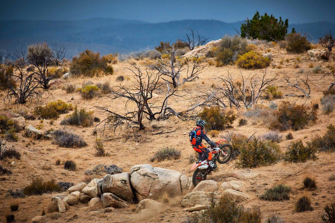 Mojave trail ride