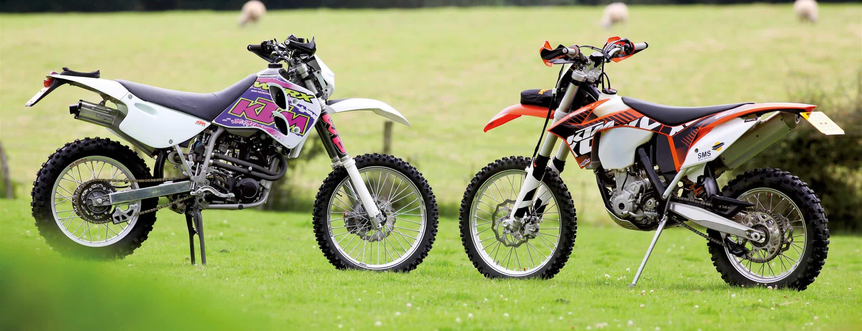1993 KTM 350E-XC vs 2013 KTM 350EXC