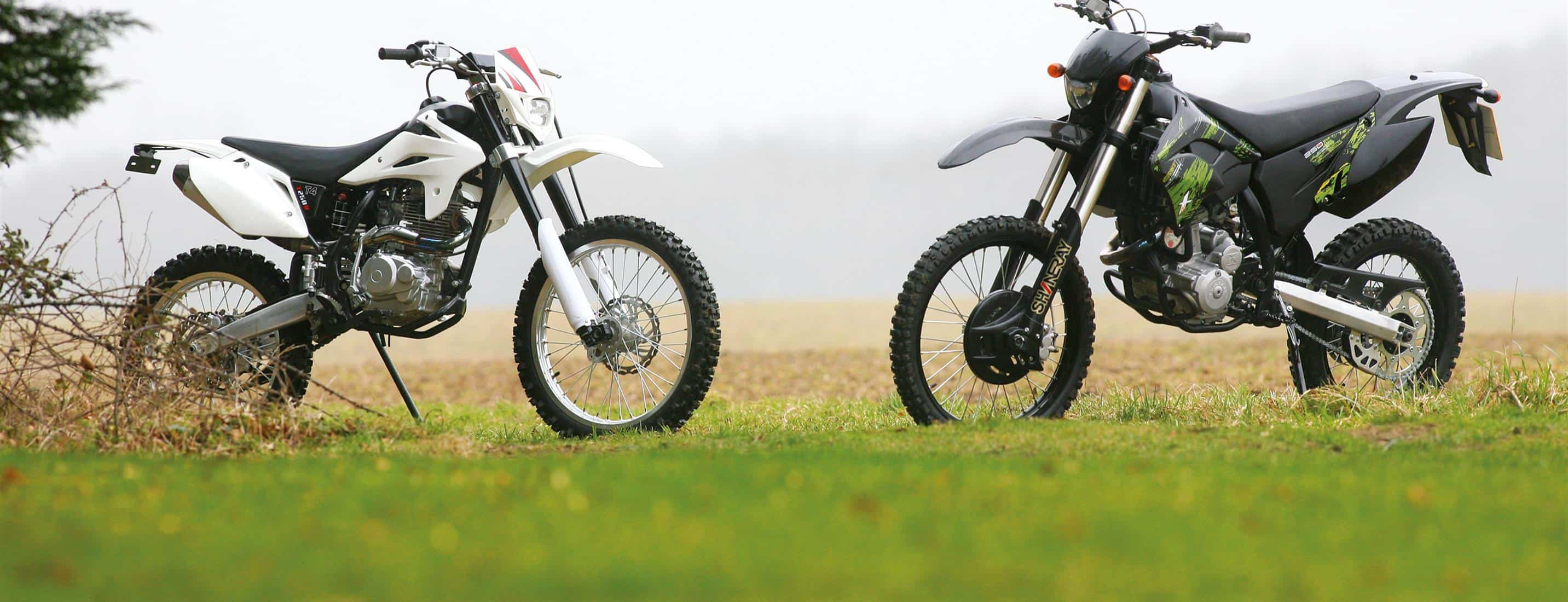 2011 SHINERAY XY250GY-2 VS STOMP T4