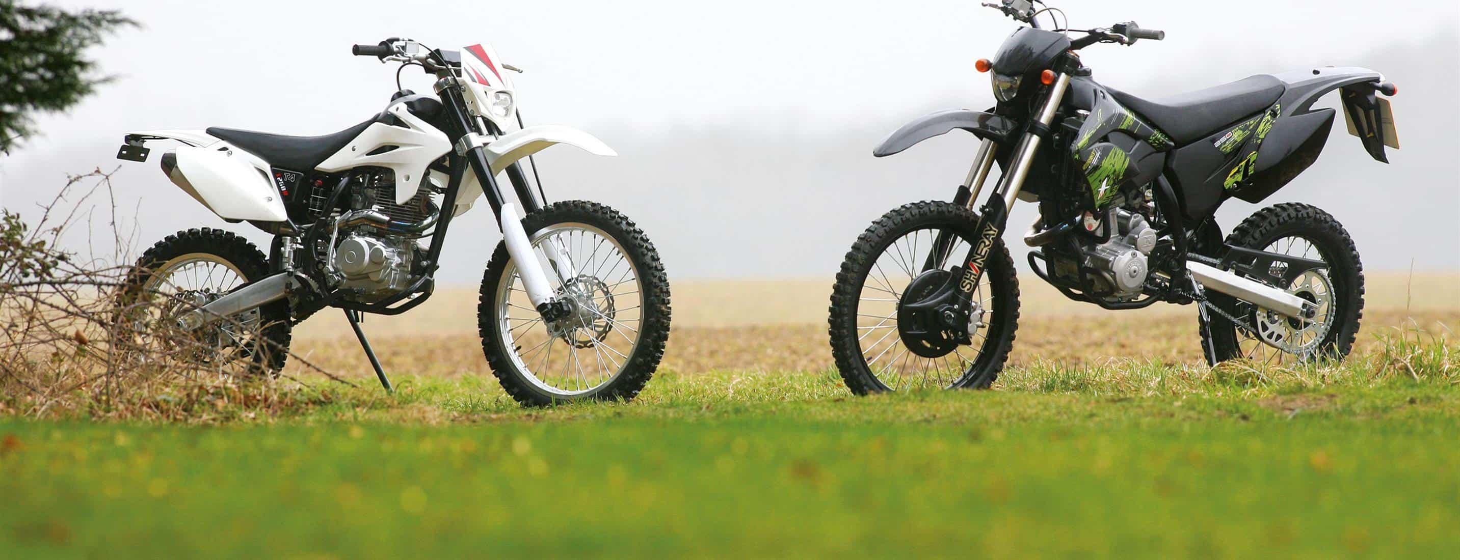 2011 SHINERAY XY250GY-2 VS STOMP T4