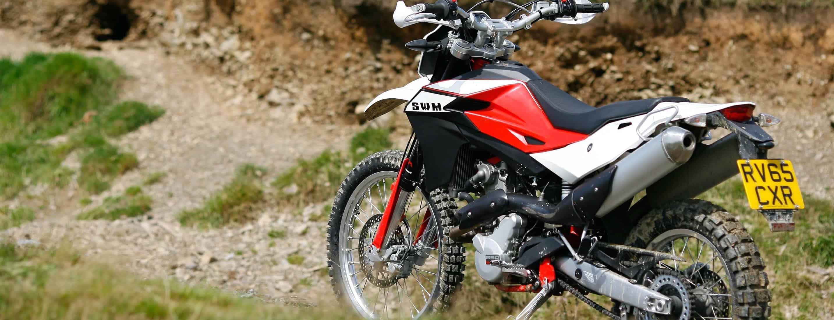 SWM are back, with a neat 600cc thumper trailie