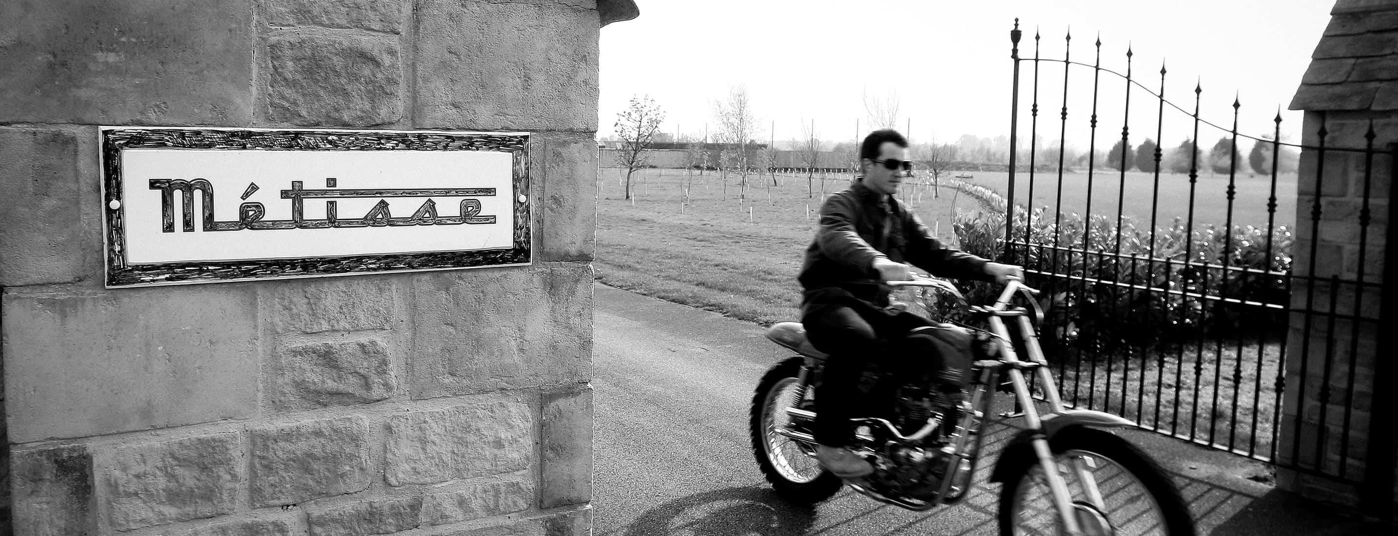 Steve McQueen Metisse Desert Racer