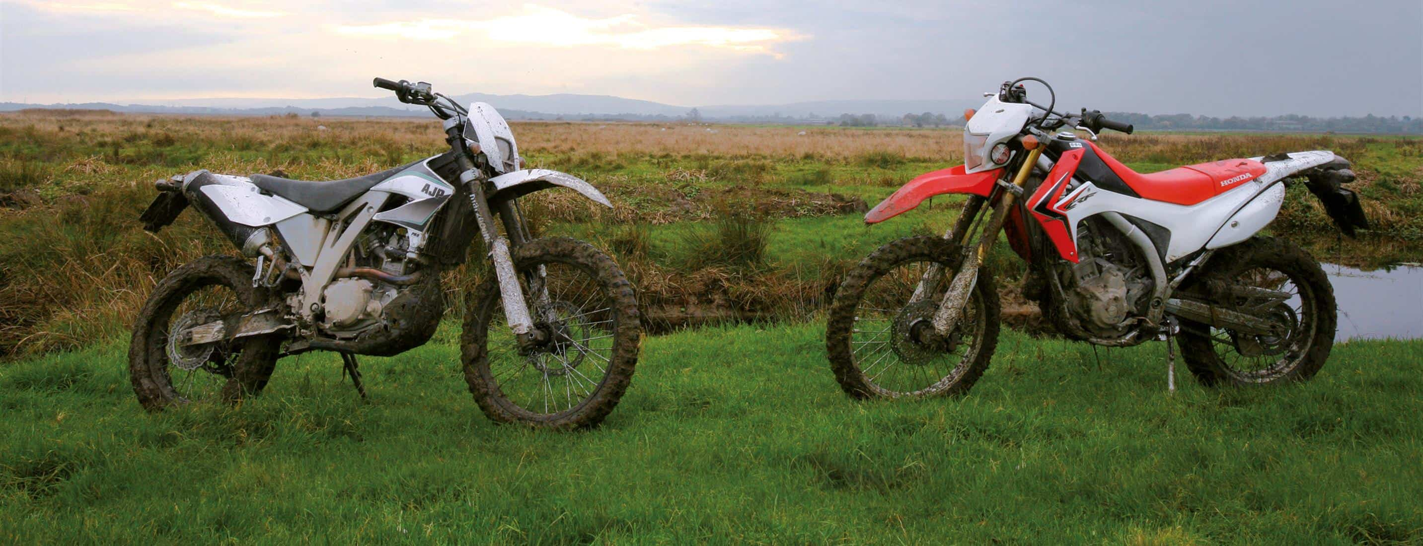 TRAIL TEST – AJP PR5 VS HONDA CRF250-L