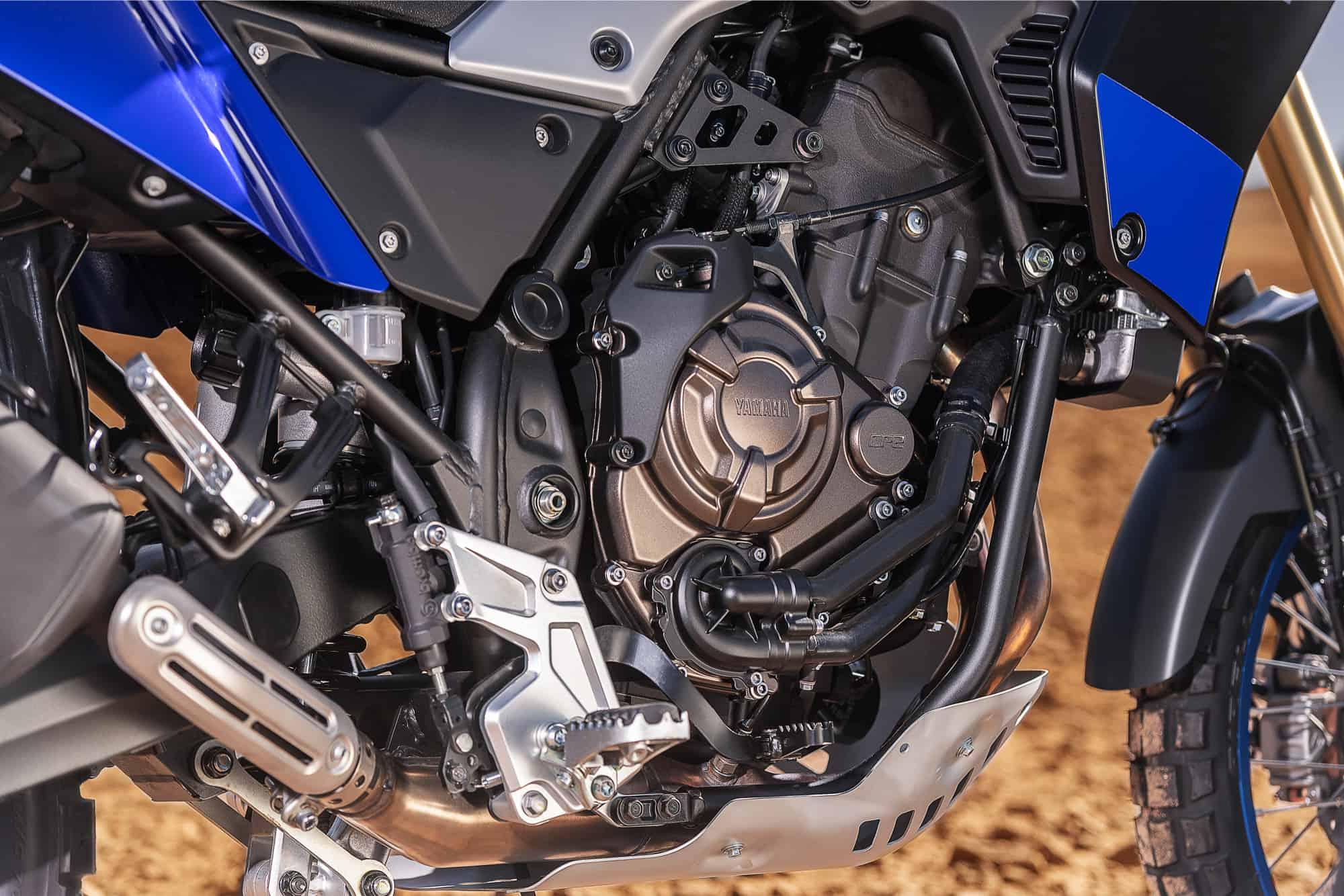 2019 YAMAHA TENERE 700 engine