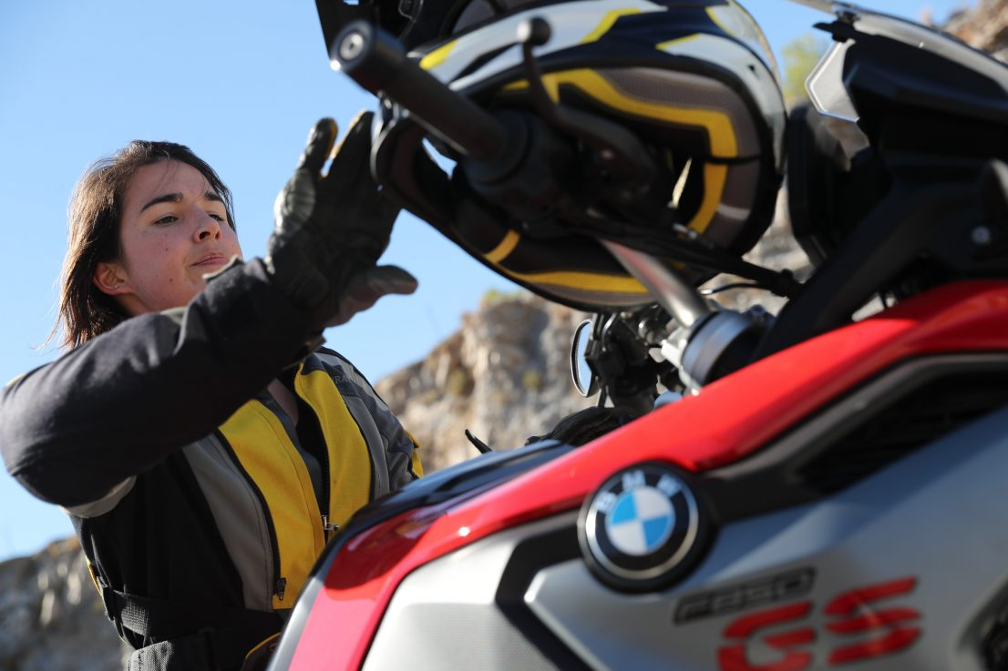 BMW Motorrad International GS Trophy Female Team Qualifier 2019. Andrea Box, Aus