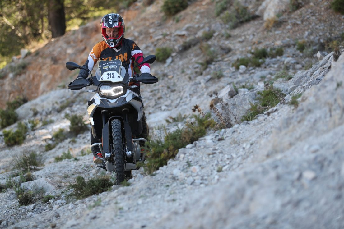 BMW Motorrad International GS Trophy Female Team Qualifier 2019. Klara Finkele, UK