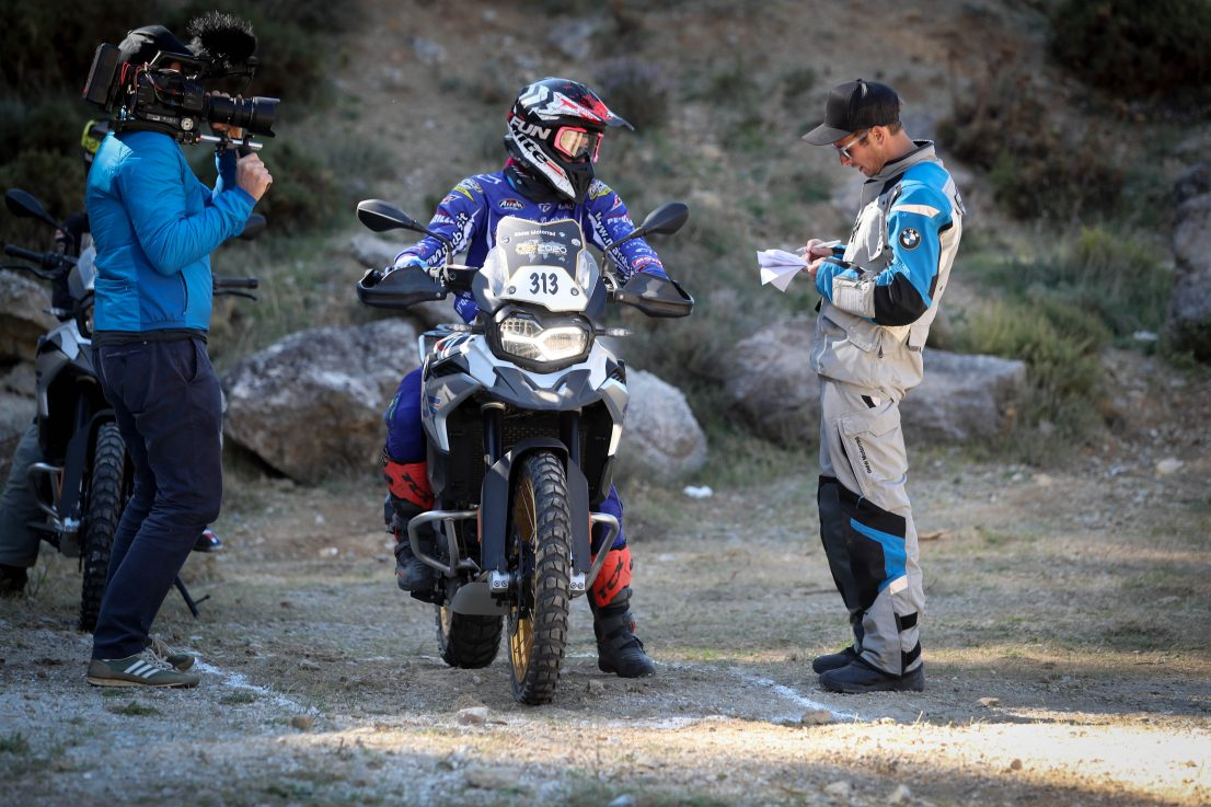 BMW Motorrad International GS Trophy Female Team Qualifier 2019. Adele Innocenzi, Italy