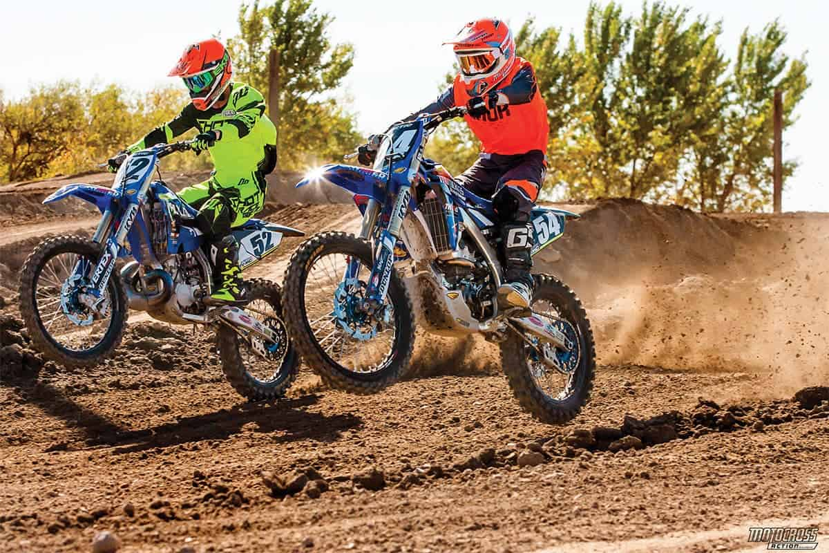 Choosing a YZ250 or YZ250F depends on your goals as a motocross racer, but even more significantly on how deep your pockets are. Building a full-race YZ250F four-stroke cost us $7000 more than building a full-race YZ250 two-stroke.