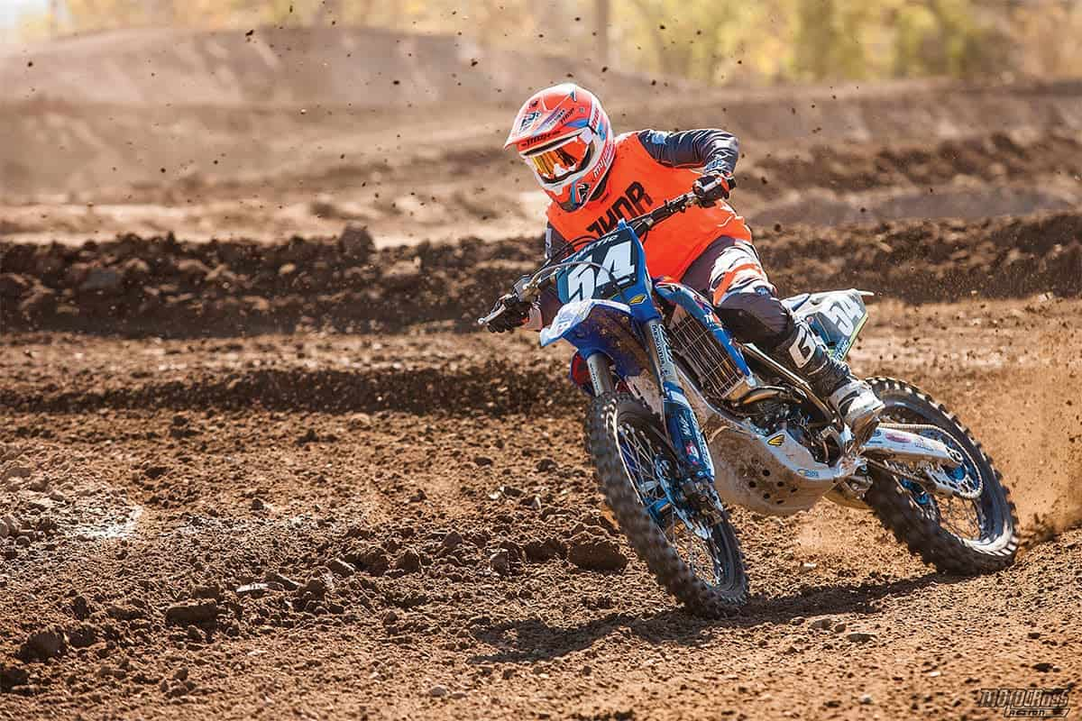 Twisted Development's YZ250F four-stroke revved to the moon and hit the afterburners 5000 rpm after the YZ250 two-stroke engine signed off.