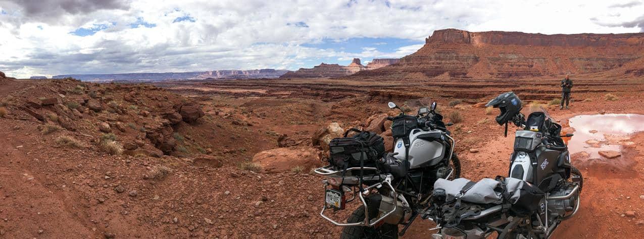Lockhart Basin on the ride into Moab
