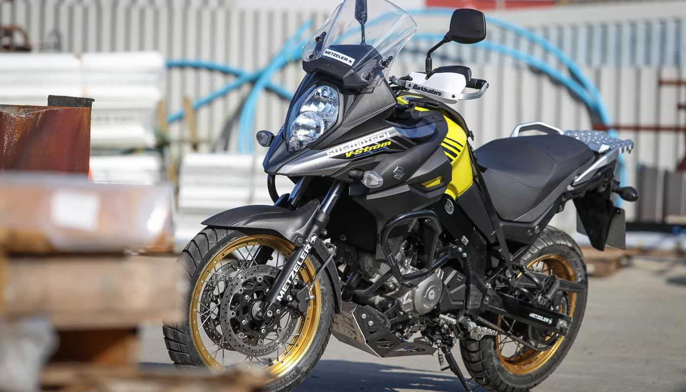 SUZUKI V-Strom 650XT adventure project part 3: workshop time complete