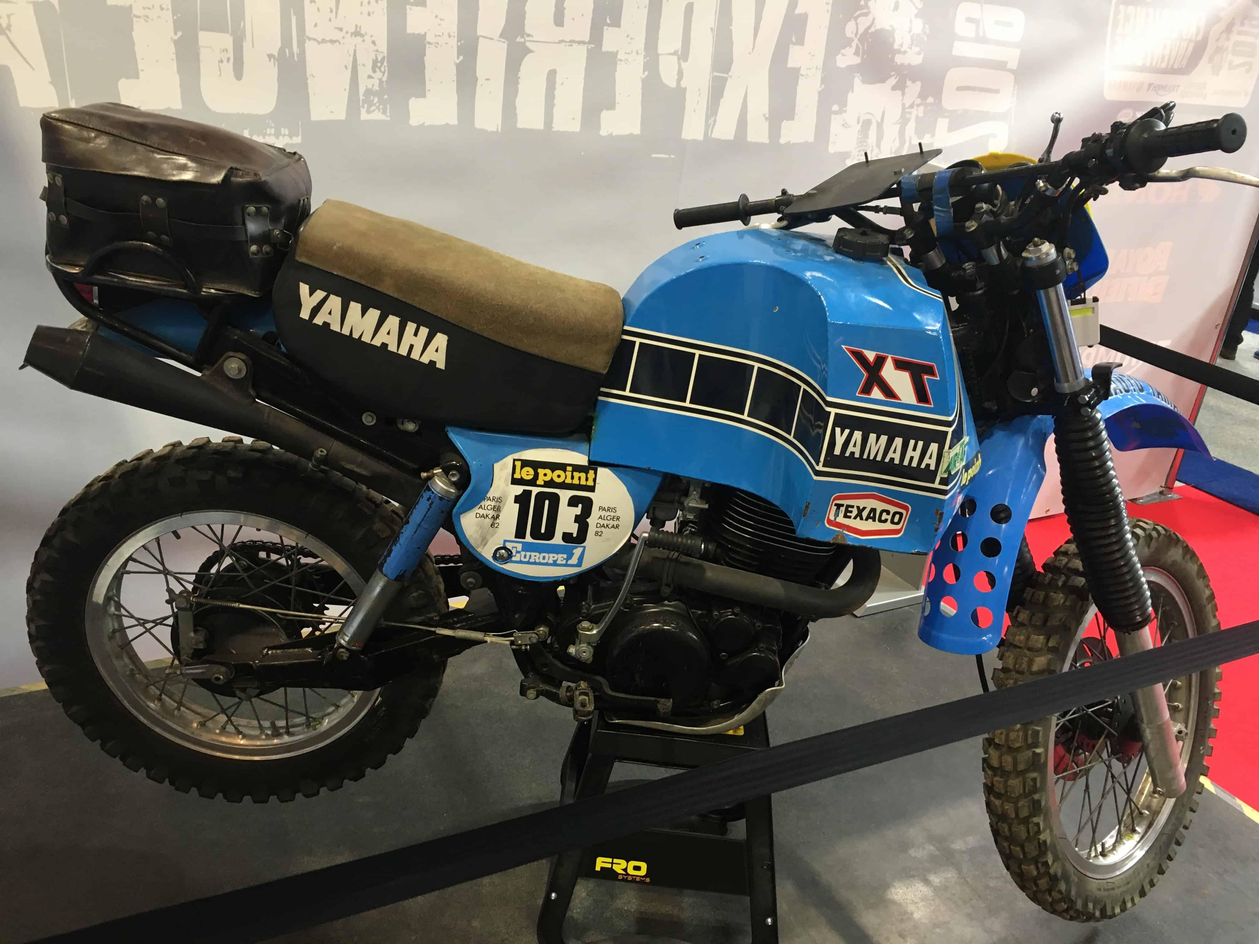 1982 Yamaha XT550 Dakar