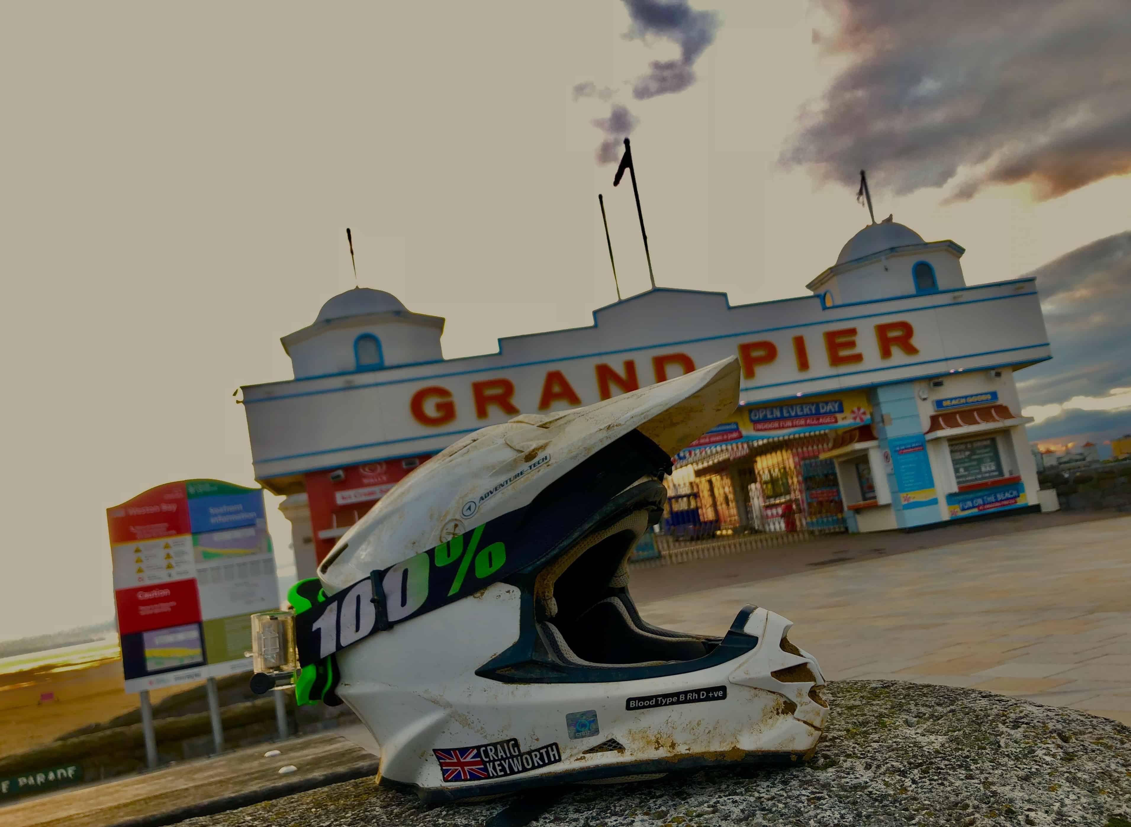Craig Keyworth Husqvarna Weston Beach Race 2019