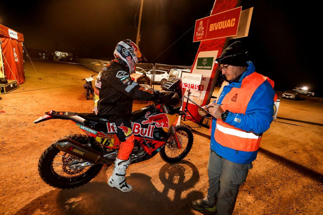 2020 Dakar Rally KTM Luciano Benavides