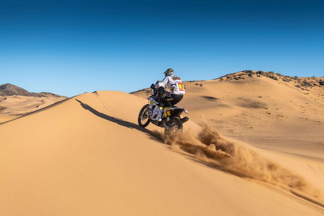 2020 Dakar Rally Husqvarna Pablo Quintanilla