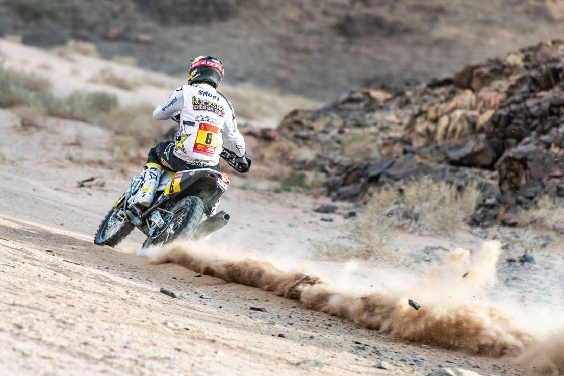 2020 Dakar Rally Husqvarna Andrew Short