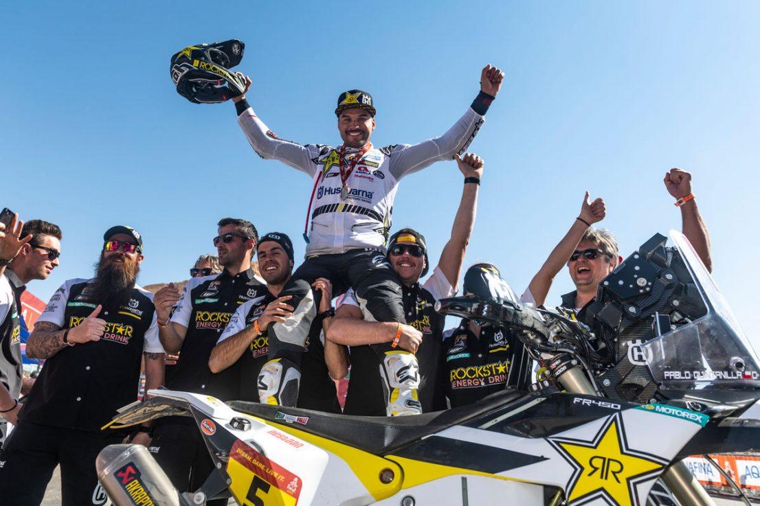 Pablo Quintanilla 2020 Dakar Rally