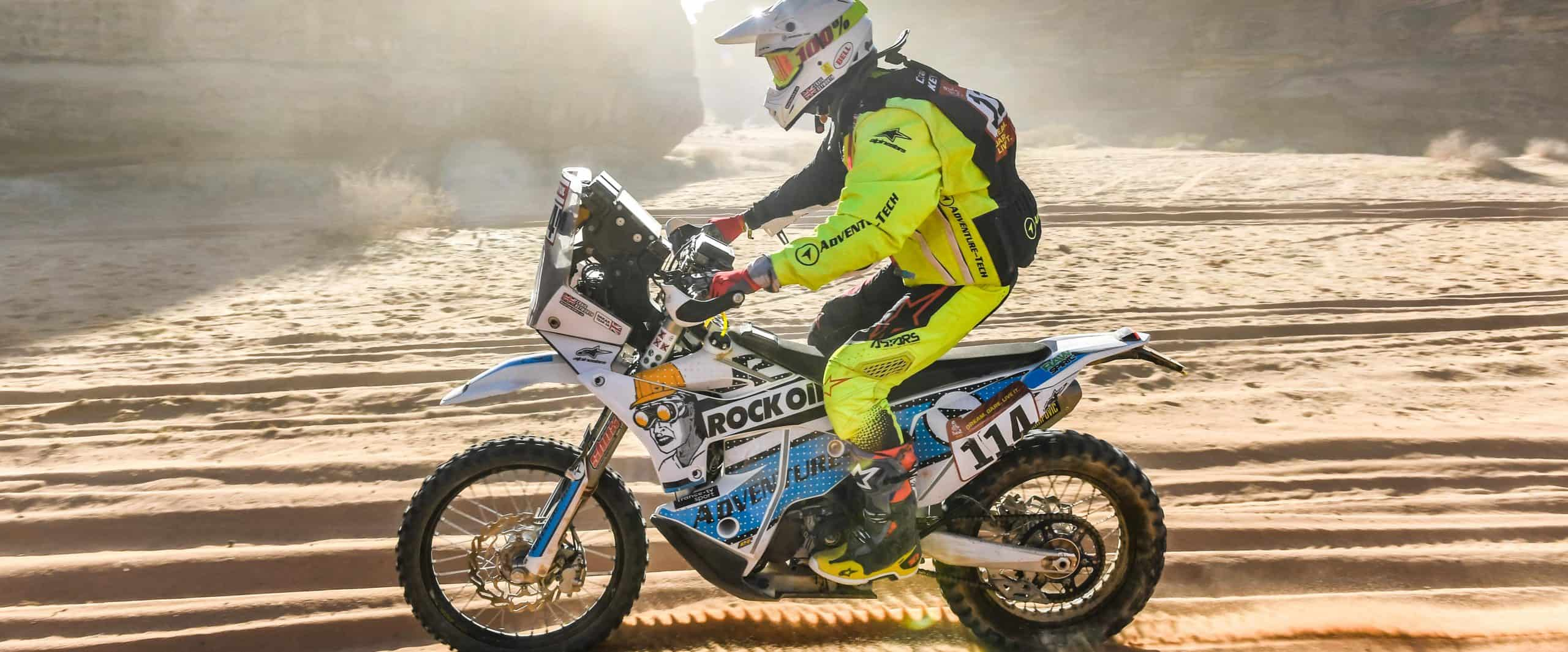Craig Keyworth Dakar Rally 2020