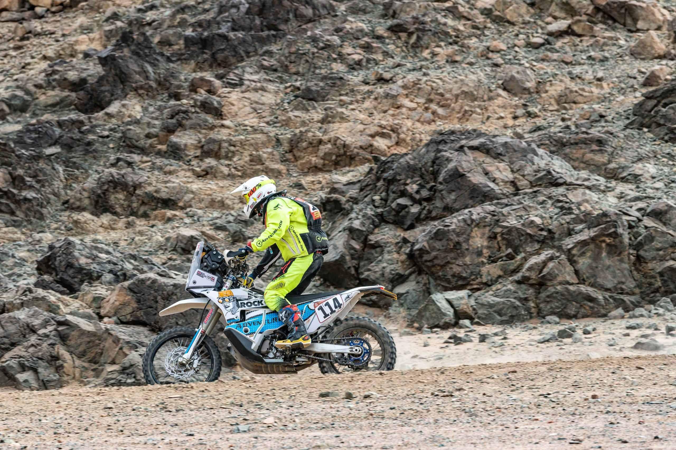 Craig Keyworth Dakar Rally 2020