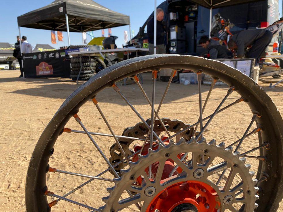Mick Extance Dakar Rally 2020