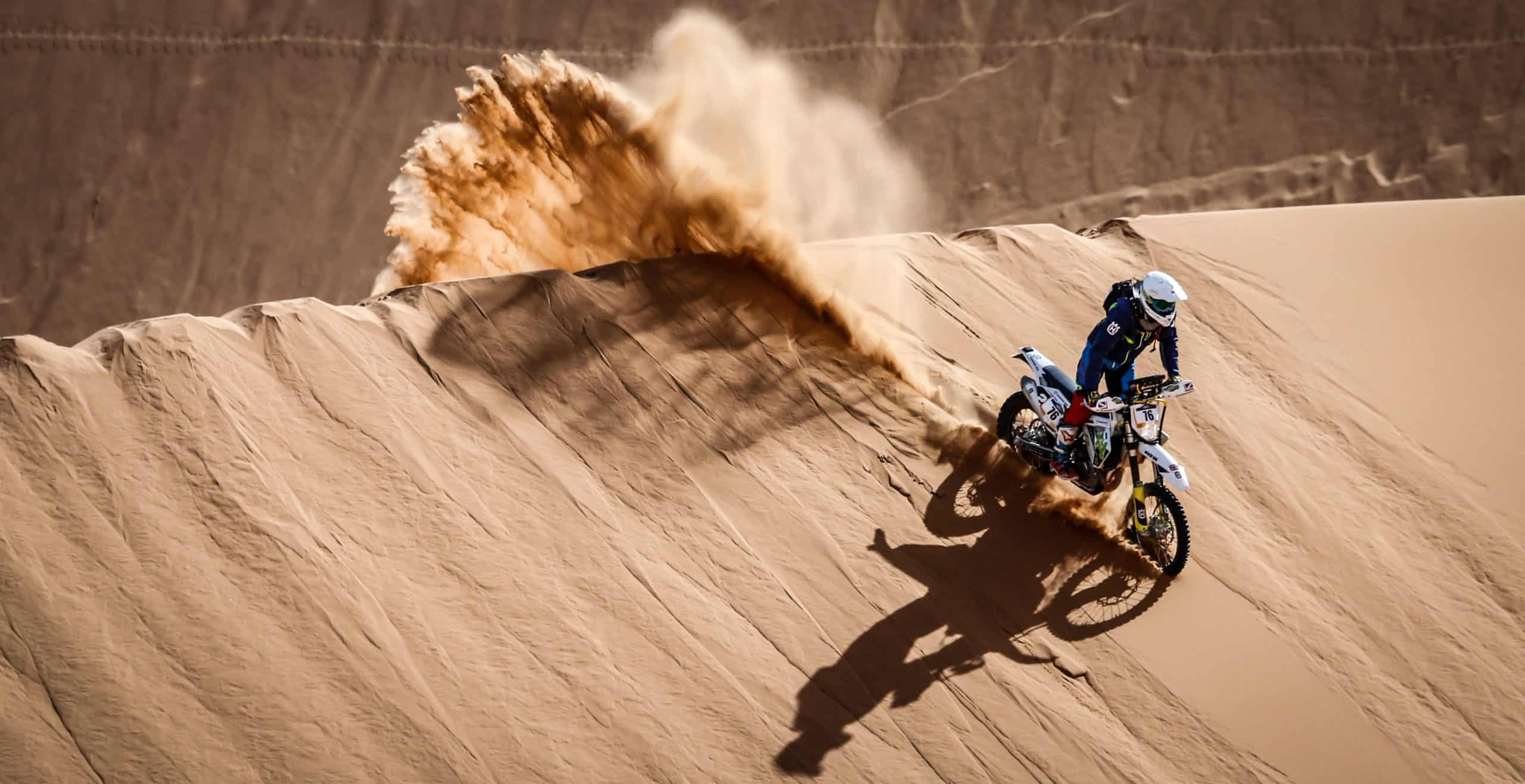 Craig Keyworth Merzouga Rally