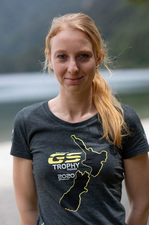 Nikki van den Spek BMW GS Trophy