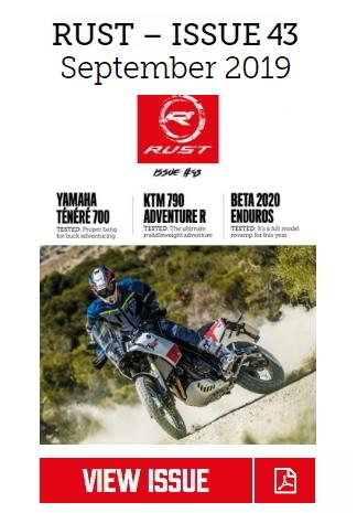 RUST 43 Motorbike Magazine