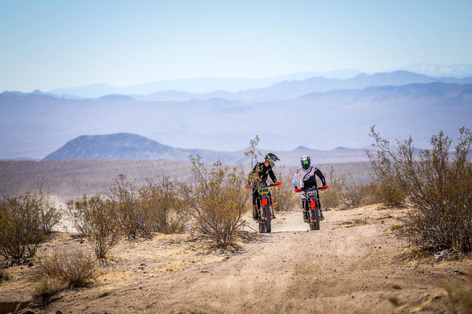 Mojave desert ride